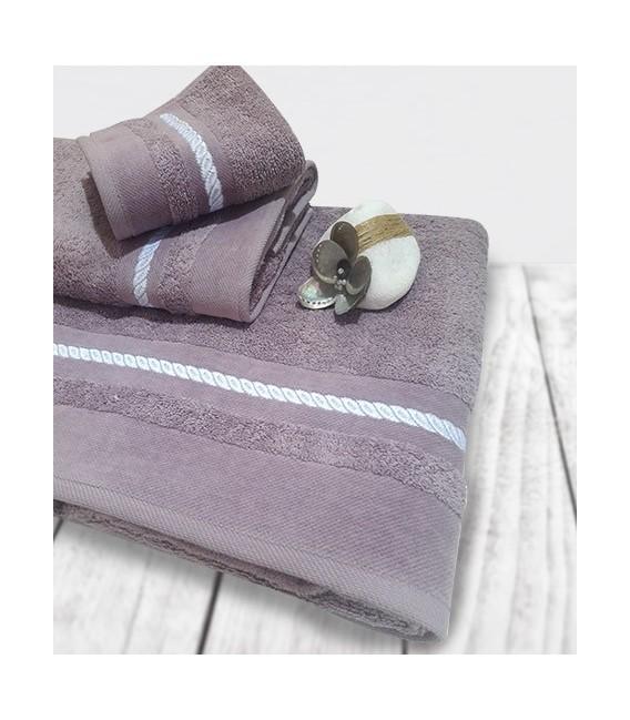 Omega Home Πετσέτες Σετ 3 τμχ des.155