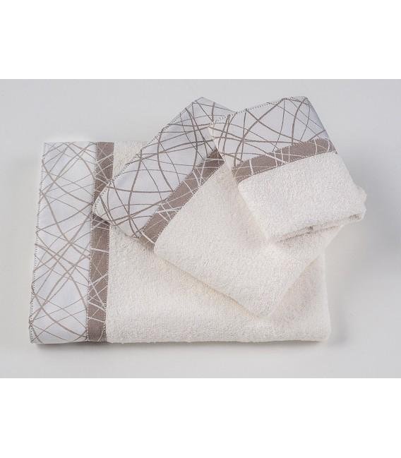Omega Home Πετσέτες σετ 3 τμχ des.122