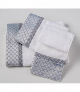Omega Home Πετσέτες σετ 3 τμχ des.123