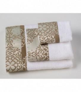 Omega Home Πετσέτες σετ 3 τμχ des.126
