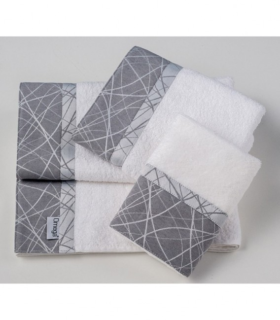 Omega Home Πετσέτες σετ 3 τμχ des.129