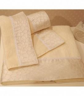 Omega Home Πετσέτες σετ 3 τμχ des.166