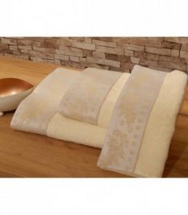 Omega Home Πετσέτες σετ 3 τμχ des.167
