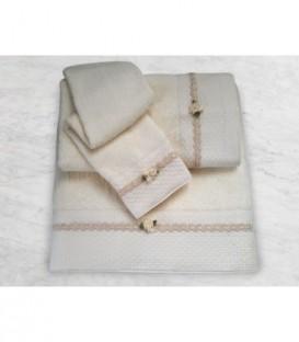 Omega Home Πετσέτες σετ 3 τμχ des.168