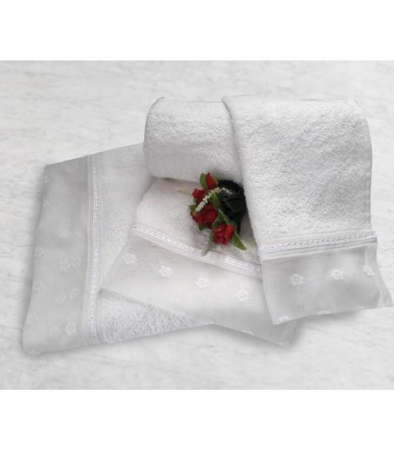 Omega Home Πετσέτες σετ 3 τμχ des.170