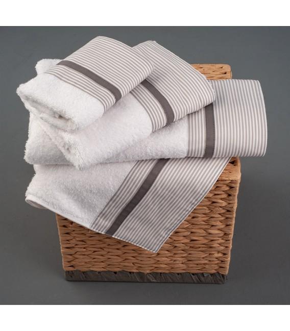 Omega Home Πετσέτες σετ 3 τμχ des.259