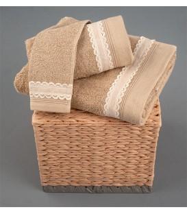Omega Home Πετσέτες σετ 3 τμχ des.179