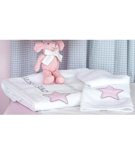 Baby Oliver des.308 Πετσέτες Σετ 2 τμχ  - Λιανική Τιμή: 31,50€