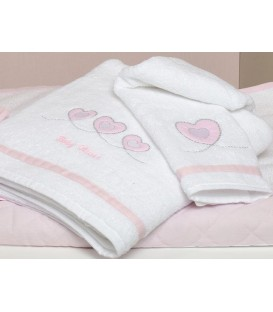 Baby Oliver des.332 Πετσέτες Σετ 2 τμχ  - Λιανική Τιμή: 31,50€