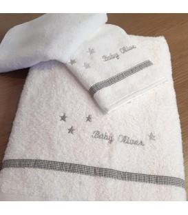 Baby Oliver des.335 Πετσέτες Σετ 2 τμχ  - Λιανική Τιμή: 31,50€
