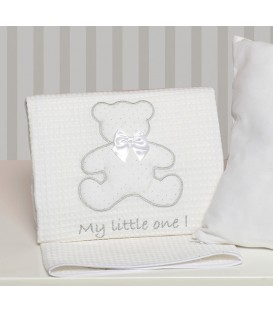Baby Oliver des.330 Κουβέρτα Πικέ Κούνιας - Λιανική Τιμή: 31,50€