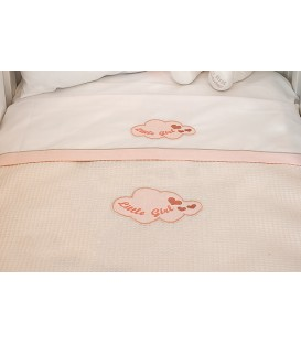 Baby Oliver des.144 Κουβέρτα Πικέ Κούνιας - Λιανική Τιμή: 31,50€