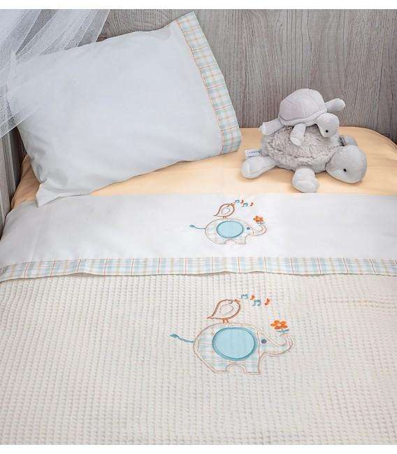 Baby Oliver des.140 Κουβέρτα Πικέ Κούνιας - Λιανική Τιμή: 28€