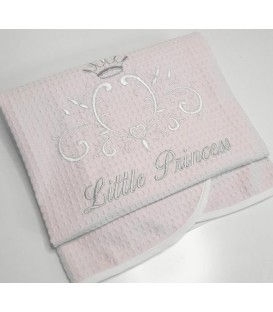 Baby Oliver des.322 Κουβέρτα Πικέ Αγκαλιάς - Λιανική Τιμή: 23€