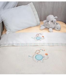 Baby Oliver des.140 Κουβέρτα Πικέ Αγκαλιάς - Λιανική Τιμή: 19€