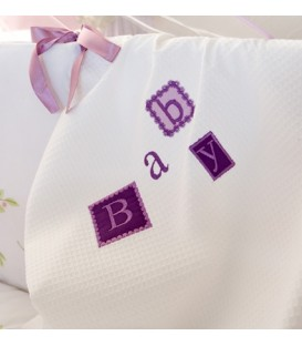 Baby Oliver des.602 Κουβέρτα Πικέ Κούνιας - Λιανική Τιμή: 29€