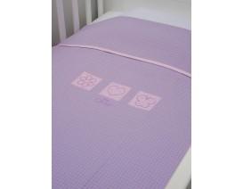 Baby Oliver des.471 Κουβέρτα Πικέ Κούνιας - Λιανική Τιμή: 29€