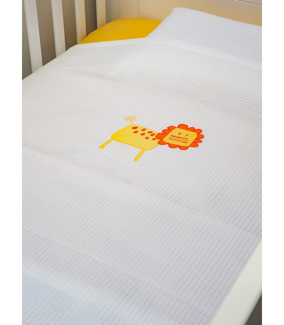 Baby Oliver des.470 Κουβέρτα Πικέ Κούνιας - Λιανική Τιμή: 29€