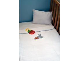 Baby Looney Tunes des.31 Κουβέρτα Πικέ Αγκαλιάς - Λιανική Τιμή: 34€