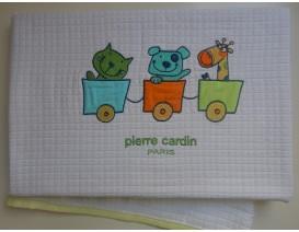 Pierre Cardin Bebe des.130 Κουβέρτα Πικέ Αγκαλιάς - Λιανική Τιμή: 34€