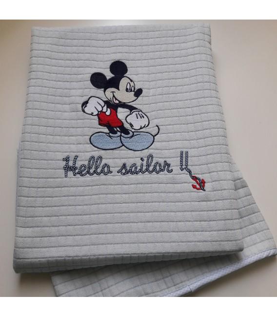 Disney Baby des.71 Κουβέρτα Πικέ Αγκαλιάς - Λιανική Τιμή: 34€