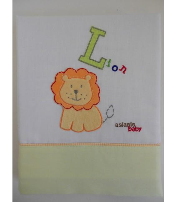 Baby Oliver Σεντόνια Σετ 3 τμχ des. 508