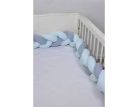Baby Oliver des,105 Πλεξούδες Προστασίας Κρεβατιού - Λιανική Τιμή: 49€