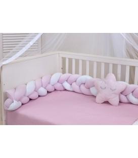 Baby Oliver des,120 Πλεξούδες Προστασίας Κρεβατιού - Λιανική Τιμή: 49€