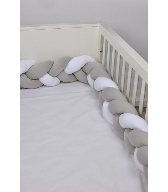 Baby Oliver des,140 Πλεξούδες Προστασίας Κρεβατιού - Λιανική Τιμή: 49€