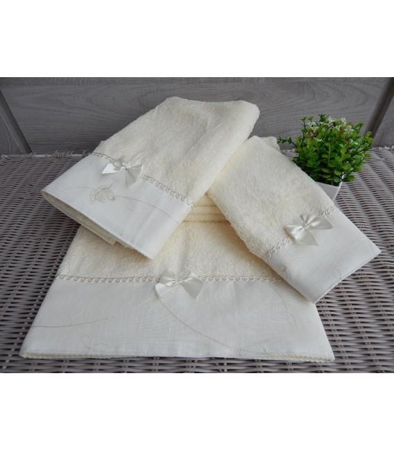 Omega Home Πετσέτες σετ 3 τμχ des.161