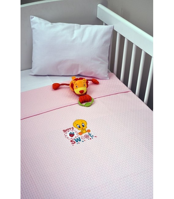 Baby Looney Tunes des.26 Κουβέρτα Πικέ Αγκαλιάς - Λιανική Τιμή: 34€