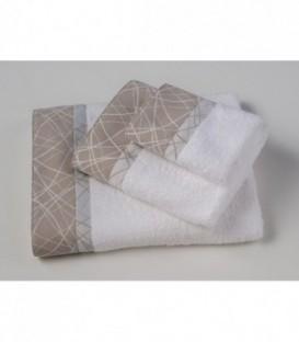 Omega Home Πετσέτες σετ 3 τμχ des.121