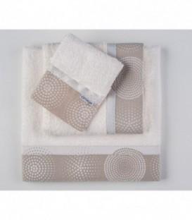 Omega Home Πετσέτες σετ 3 τμχ des.125