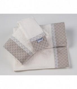 Omega Home Πετσέτες σετ 3 τμχ des.128