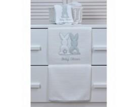 Baby Oliver des.356 Κουβέρτα Πικέ Κούνιας – Λιανική τιμή: 31.50€