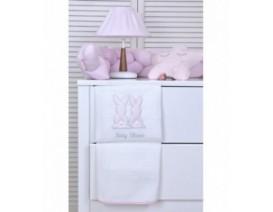 Baby Oliver des.357 Κουβέρτα Πικέ Κούνιας – Λιανική τιμή: 31.50€