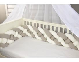 Baby Oliver  des 7744 πλεξούδα τετραπλή  ζέρσευ  2 μ χ 24εκ. - ΛΙΑΝΙΚΗ ΤΙΜΗ 67 €