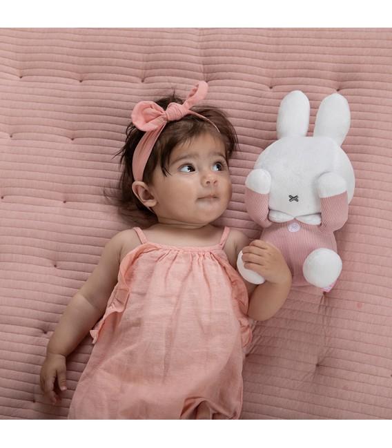 Υφασματινο λουτρινο 32cm με μαγνητες στα μάτια για να κλείνει τα ματακια Miffy  pink - ΛΙΑΝΙΚΗ ΤΙΜΗ 19.90 €