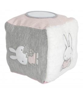 Κύβος δραστηριοτητων με εσωτερικό κουδουνάκι Miffy pink - ΛΙΑΝΙΚΗ ΤΙΜΗ 18,50€