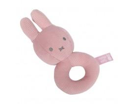 Yφασμάτινη κουδουνιστρα Miffy pink - ΛΙΑΝΙΚΗ ΤΙΜΗ 9.00 €