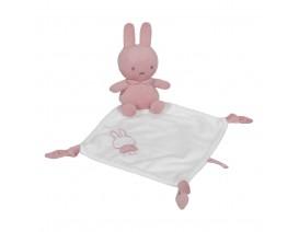 Πανάκι παρηγοριάς - doudou Miffy pink - ΛΙΑΝΙΚΗ ΤΙΜΗ 15.00 €