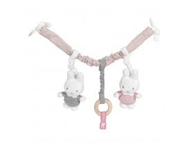 Γιρλάντα Καροτσιού / Καθίσματος αυτοκινήτου Miffy pink - ΛΙΑΝΙΚΗ ΤΙΜΗ 22.00 €