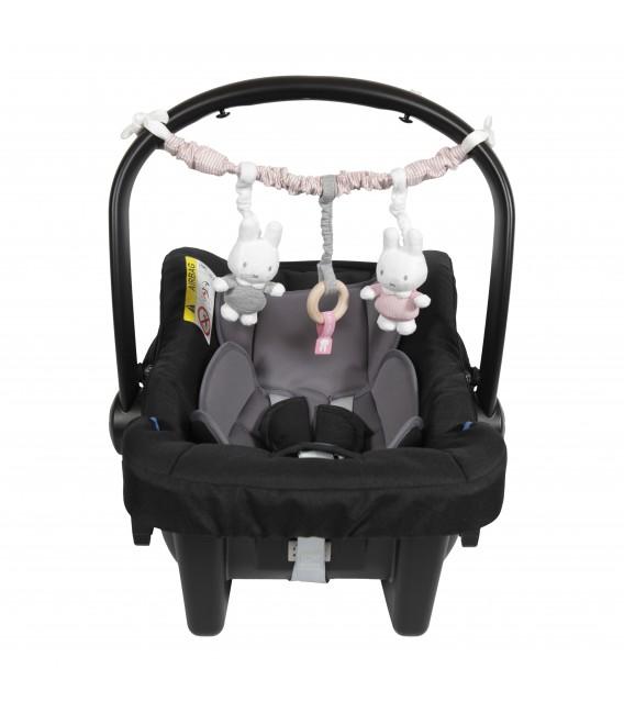 Γιρλάντα Καροτσιου / Καθισματος αυτοκινητου Miffy pink - ΛΙΑΝΙΚΗ ΤΙΜΗ 17.00 €