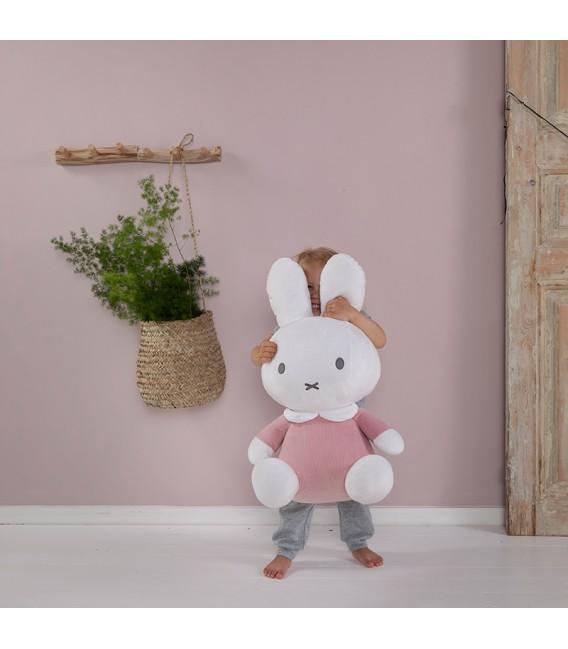 Υφασματινο λουτρινο 60cm  με εσωτερικο κουδουνακι Miffy pink - ΛΙΑΝΙΚΗ ΤΙΜΗ 65.00 €