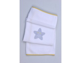 Baby Oliver des.353 Κουβέρτα Πικέ Αγκαλιάς – Λιανική τιμή: 23.00€