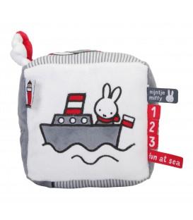 Κύβος δραστηριοτητων με εσωτερικό κουδουνάκι Miffy Fun At Sea -ΛΙΑΝΙΚΗ ΤΙΜΗ 16,00 €