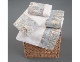 Omega Home Πετσέτες σετ 3 τμχ des.255