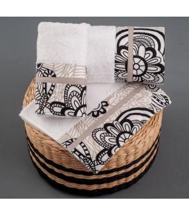 Omega Home Πετσέτες σετ 3 τμχ des.256