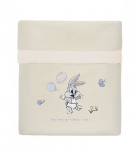 Baby Looney Tunes Κουβέρτα Fleece des.16 Κούνιας ΠΛΤ 41,00€