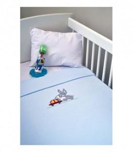 Baby Looney Tunes Fleece Κουβέρτα des.31 Κούνιας ΠΛΤ 43,00€